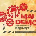 Gemeinsame Demonstration von nationalen und heimatverbundenen Kräften am 1. Mai 2018 in Erfurt!